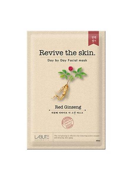 Labute Revive the skin Facial Mask (10ea) - Red Ginseng
