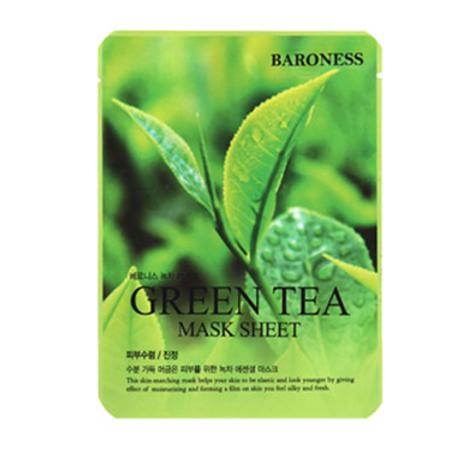 Baroness Mask Sheet - GREEN TEA (10ea)