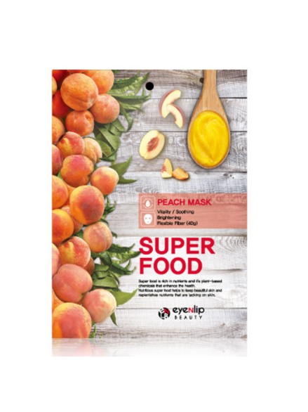 EYENLIP Super Food Mask (10ea) - Peach