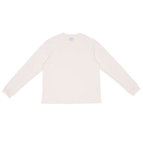 KAJA WAFFLE LONG SLEEVE T-SHIRTS (No,20210319)