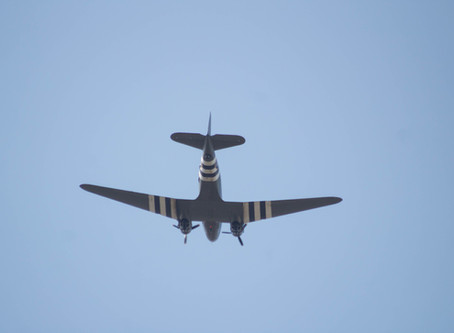 Dakota Fly-Past at Kempston FunDay
