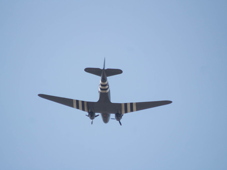 Dakota Fly-Past at Kempston FunDay