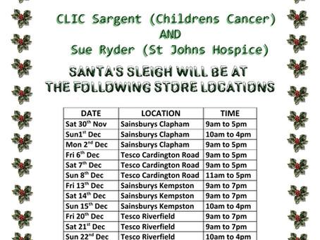 Santa Store Location Poster 2019