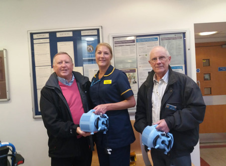 Nebulisers  for Bedford south wing