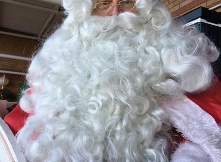 Santa at Clapham Sainsbury