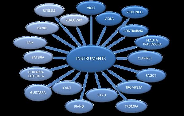 Aula de Música 7- Classes de tots els instruments en formació lliure