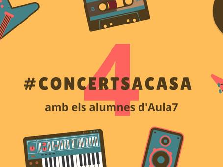 4ts #concerts a casa. Audicions virtuals. Divendres 8 de maig.