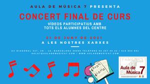 Concert final de curs
