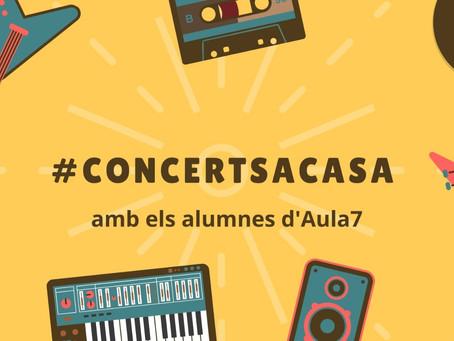 #concerts a casa. 13a edició. Divendres 26 de juny.