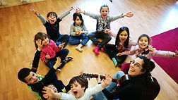 Aula de Música 7- Classes d'iniciació musical de 3 a 6 anys.