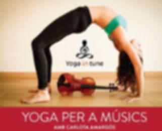 Aula de Música 7- Yoga per a músics