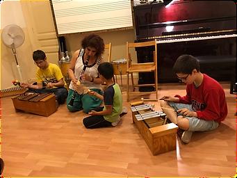 Aula de Música 7- Aula para alumnos con necesidades especiales y musicoterapia.