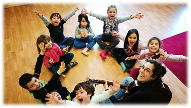 Aula de Música 7- Classes d'iniciació musical
