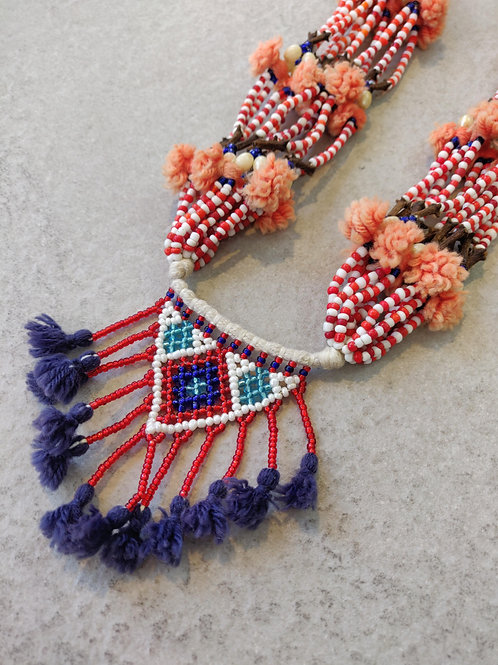 Beaded Anjini Necklace