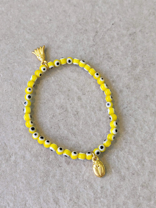 Yellow Eye bracelet