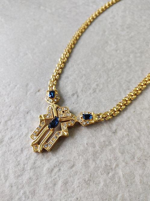 Vintage Moroccan Hamsa Necklace