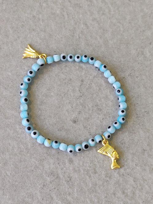 Light Blue Eye bracelet