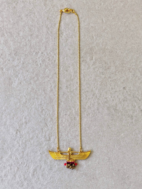 Egyptian Goddess Maat Pendant