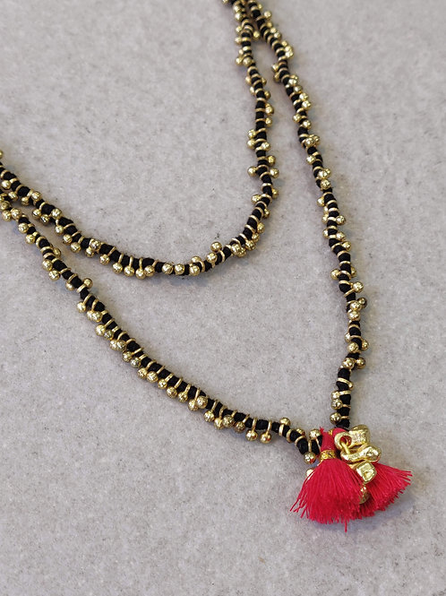 Black Candy Necklace
