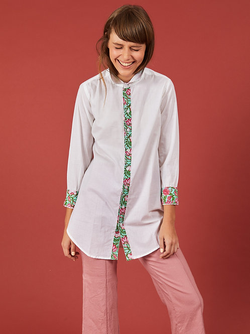 Lotus Collar Shirt