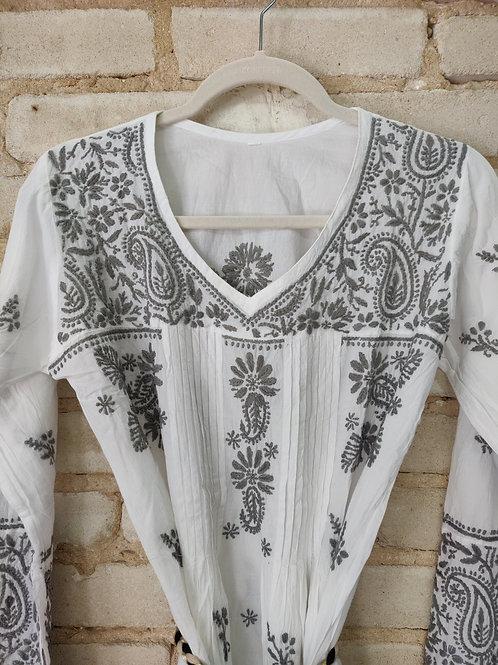 Embroidered kurta