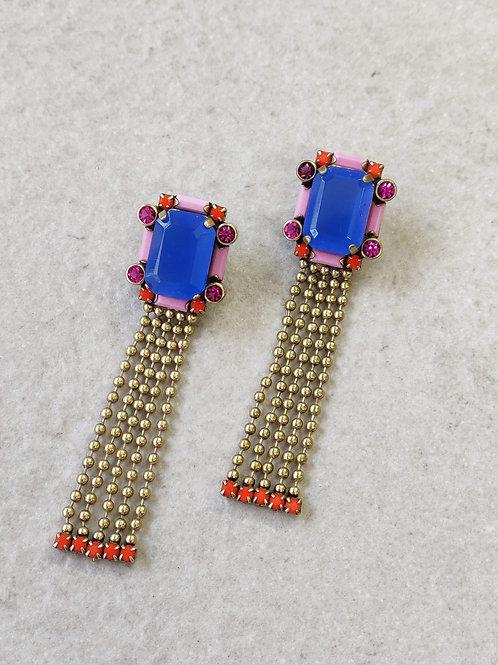 Royal Octagon Earrings