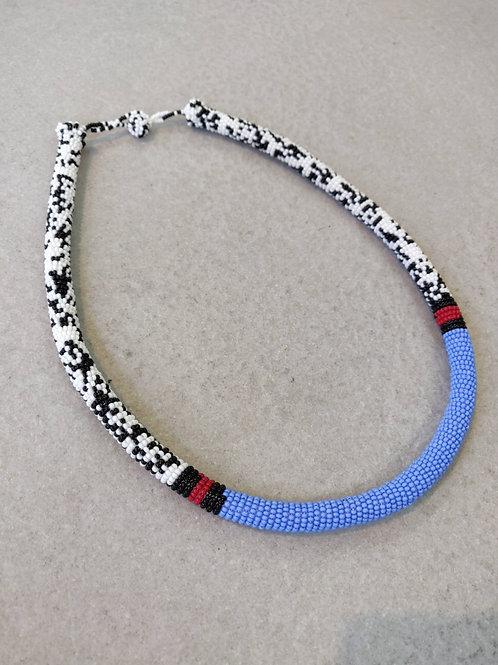 African Zulu Choker Necklace