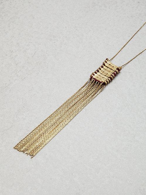 Long Fringes Necklace