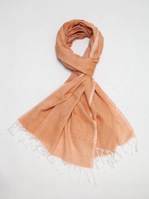 Rust Cotton Shawl
