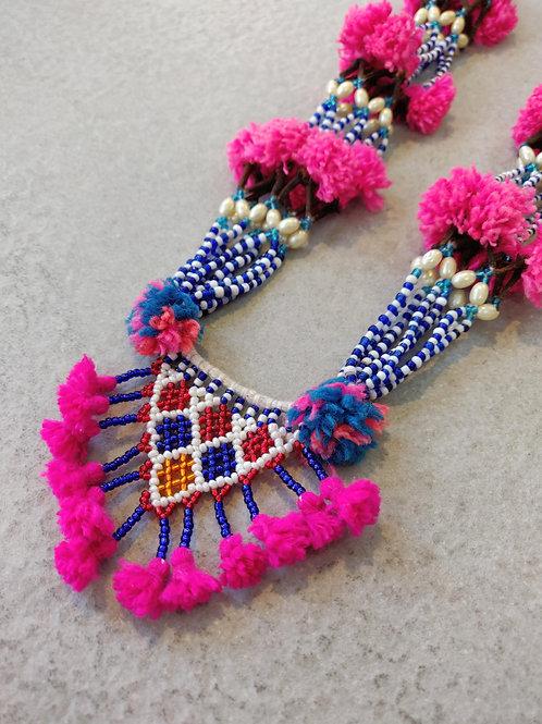 Beaded Amita Necklace