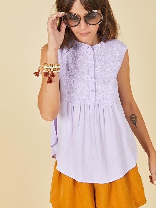 Lavender Alia Top