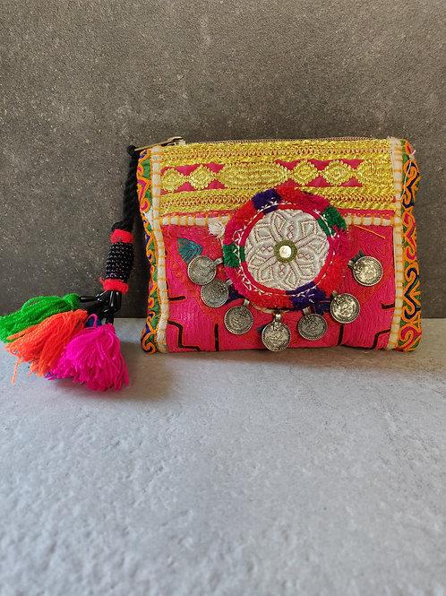 Vintage Afghani Mini Clutch