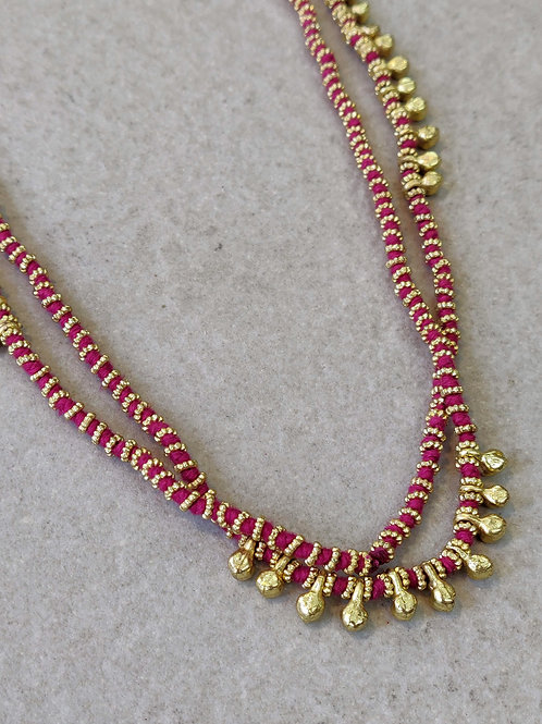 Fuchsia Lori Necklace