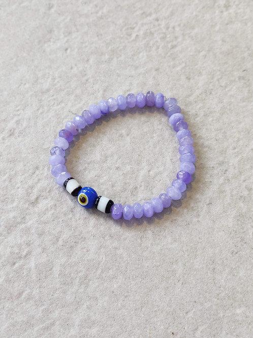 Facetted Lavender Bracelet