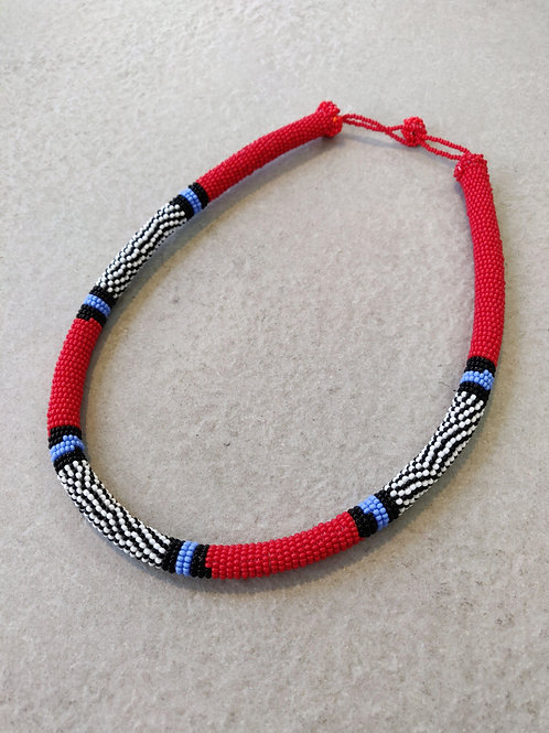 African Zulu Choker Necklace