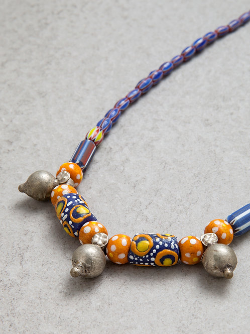 Blue African Candy Necklace