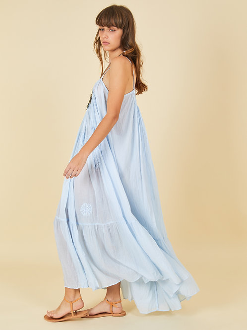 Sky Blue Apsara Dress