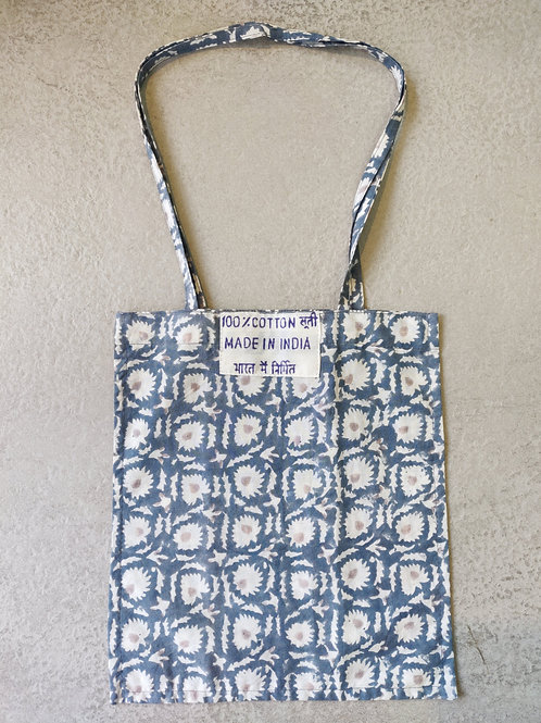 Cotton Book Tote