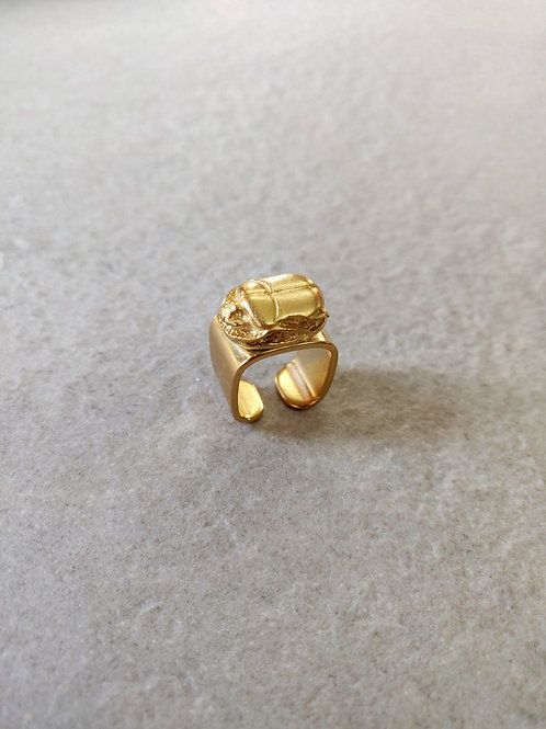 Square Scarab Ring