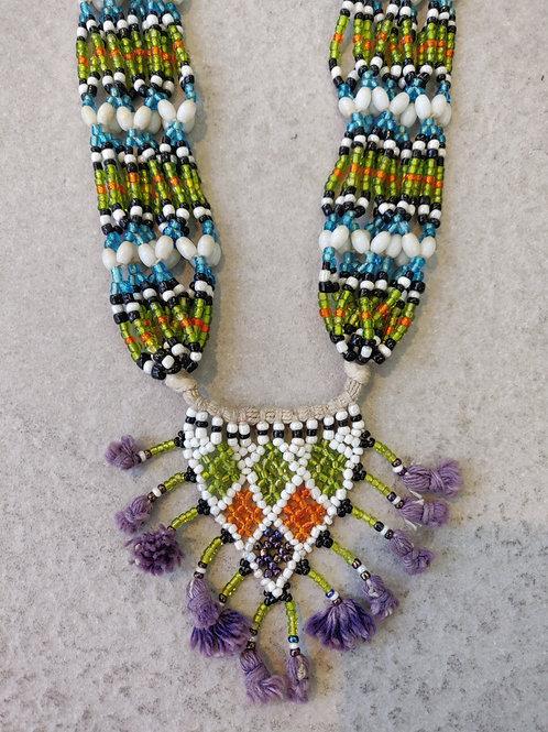 Beaded Amanni Necklace