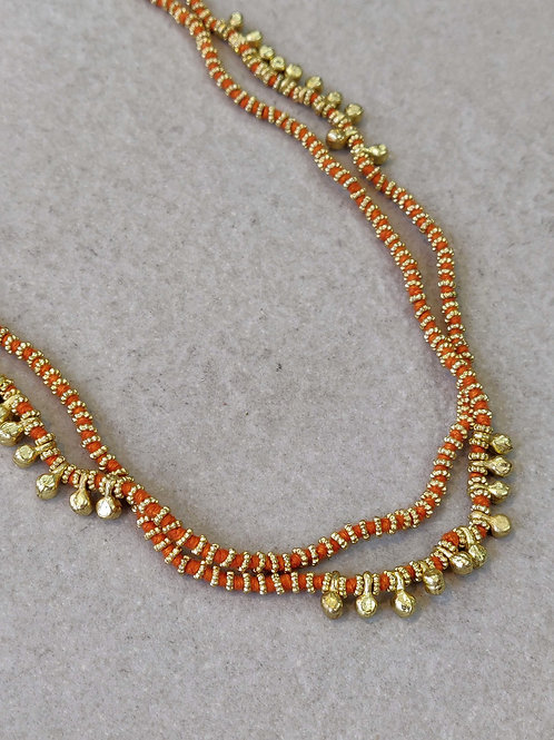 Orange Lori Necklace