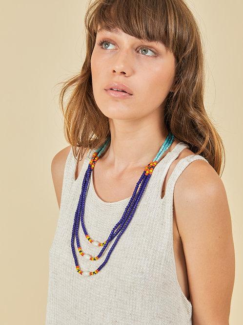 Blue Naga Necklace