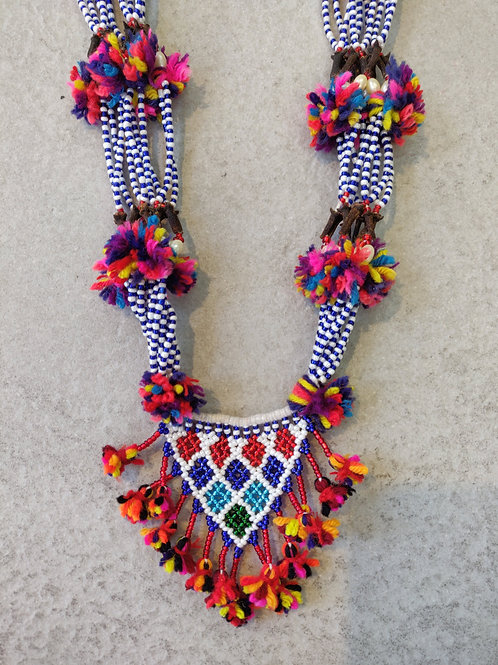 Beaded Anushi Necklace