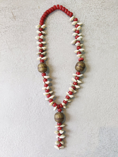 Antique Style Shell Necklace