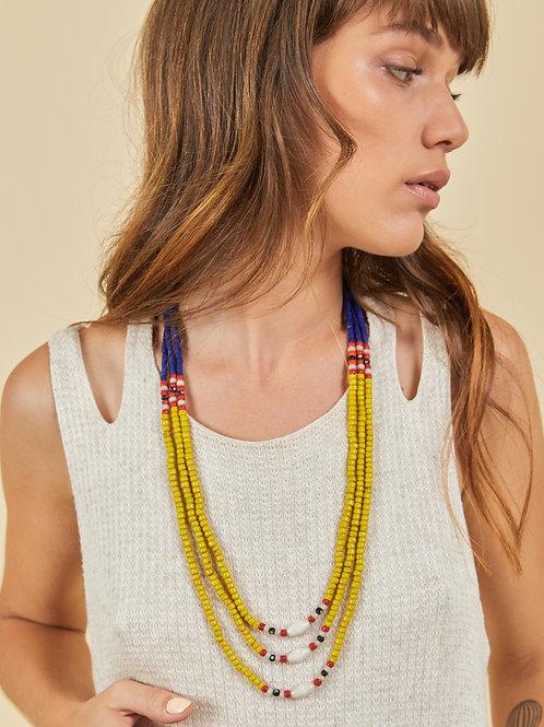 Yellow Naga Necklace