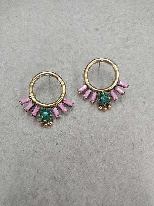 Pink Calypso Earrings