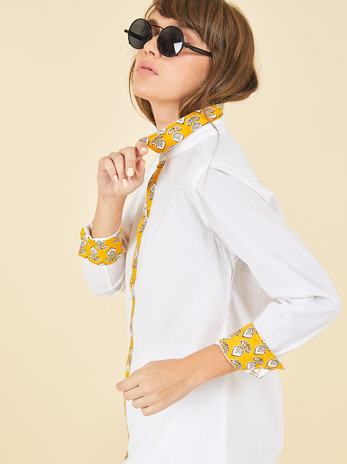 Tulip Collar Shirt