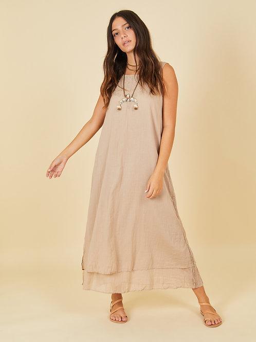 Khaki Maria Dress
