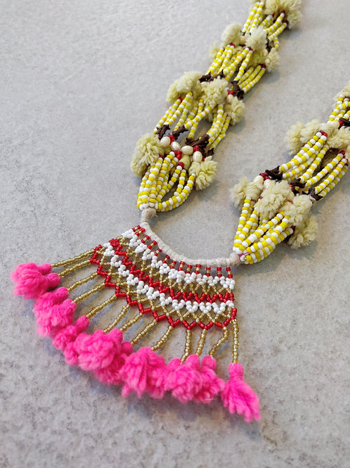 Beaded Anita Necklace
