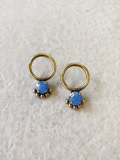 Mini Sky Calypso Earrings